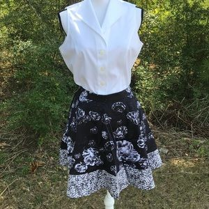 NWT Floral Skirt by Prabal Gurung for Target Size4
